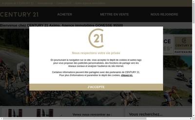Site internet de Aximo