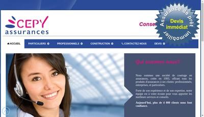 Site internet de Cepy