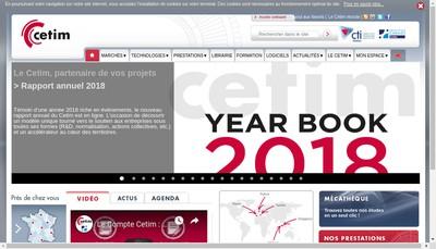 Site internet de Cetim Developpement SAS