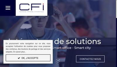 Site internet de CFI