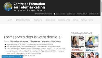 Site internet de CFT Nord