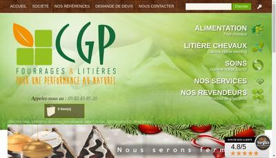 Site internet de Cg Packaging Concept Grass Packaging
