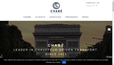 Site internet de Chabe Affaires