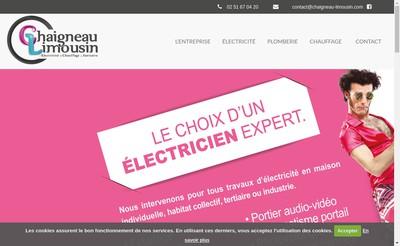 Site internet de SARL Chaigneau-Limousin