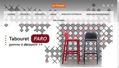 Site internet de Le Chaisier