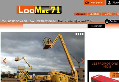Capture d'écran du site de Chalet Philibert-Bar le Garage
