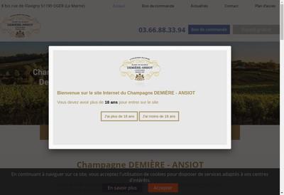 Site internet de SARL Demiere