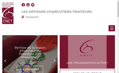 Site internet de SI Confeder Charcuterie Franc