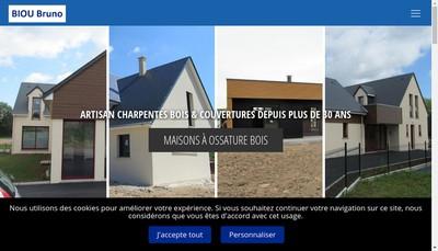 Site internet de SARL Biou Bruno