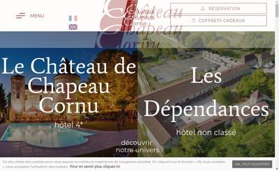 Site internet de Chateau de Chapeau Cornu