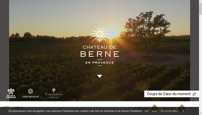 Site internet de Domaine Equestre des Bertrands