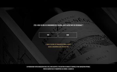 Site internet de Chateau Rauzan-Segla