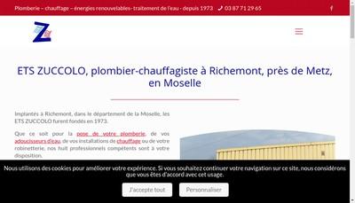 Site internet de Societe d'Exploitation des Etablissements Zuccolo