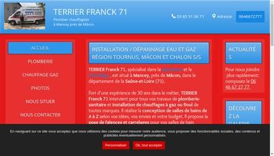 Site internet de Terrier Franck 71