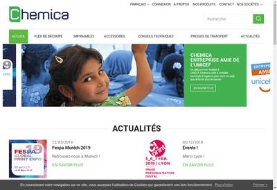 Site internet de Chemica