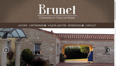 Site internet de SARL Brunet