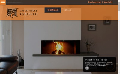 Site internet de Cheminees Fariello