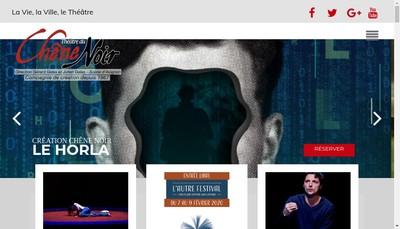 Site internet de Theatre du Chene Noir