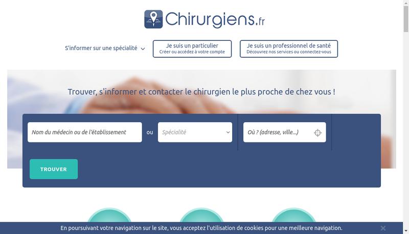 Capture d'écran du site de Olivier Cantagril Chirurgien Dentiste