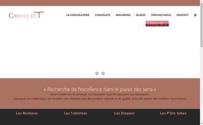 Site internet de Chocolat T