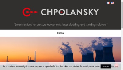 Site internet de Etablissements Chpolansky