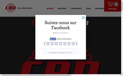 Site internet de Chris Bikes Dijon