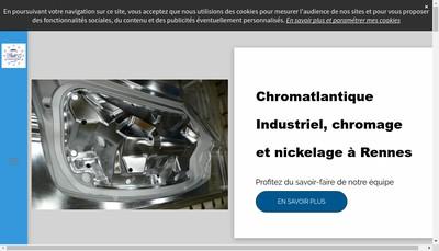 Site internet de Chromatlantique Industriel