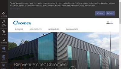 Site internet de Chromex