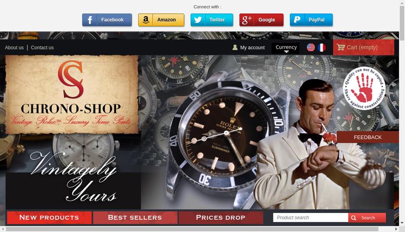 Capture d'écran du site de Olivares CS