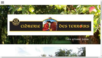 Site internet de Cidrerie des Terroirs