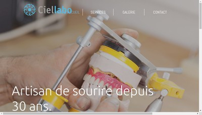 Site internet de Ciel Labo