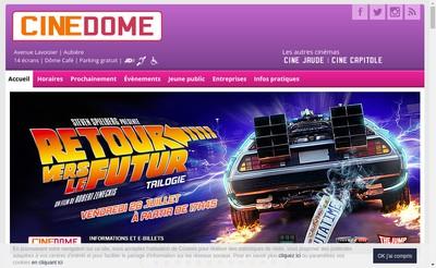 Site internet de Societe des Cinemas d'Aubiere
