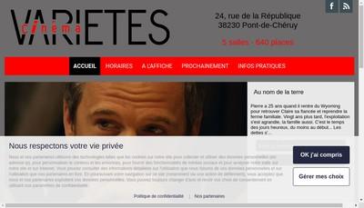 Site internet de Varietes I Ii Iii Iiii