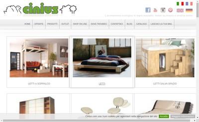 Site internet de Cinius