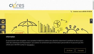 Site internet de CIPRES