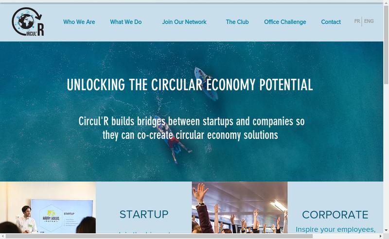 Capture d'écran du site de Circul'R