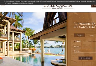 Capture d'écran du site de Ciril Group