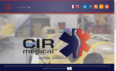 Site internet de Cir Medical