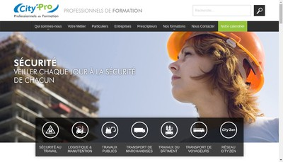 Site internet de City Pro