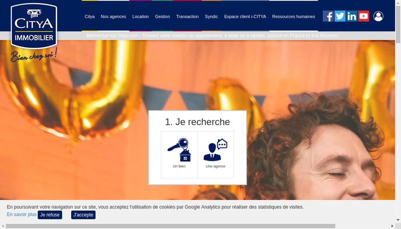 Capture d'écran du site de Urbania Paris