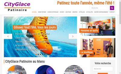 Site internet de Cityglace