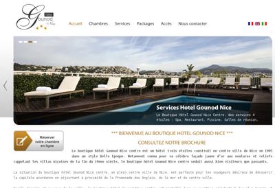 Capture d'écran du site de Citynove Asset Management