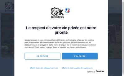 Site internet de Ck Industries