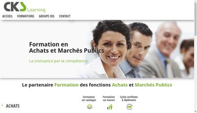 Site internet de Cks Consulting