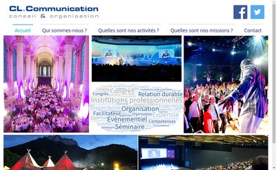 Site internet de Cl Communication