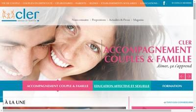 Site internet de Centre Liaison Equipe Recherche