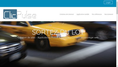 Site internet de Clicpulse