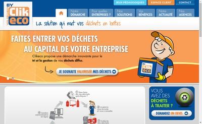Site internet de Clikeco Toulouse