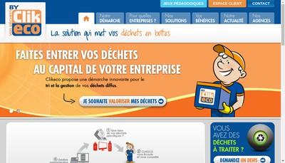 Site internet de Clikeco