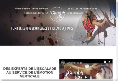 Site internet de Climb Up Investissements